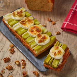 Une recette pour les apéros : Les tranchettes au poireau façon Brioches Fonteneau !