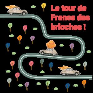 Le tour de France des brioches !