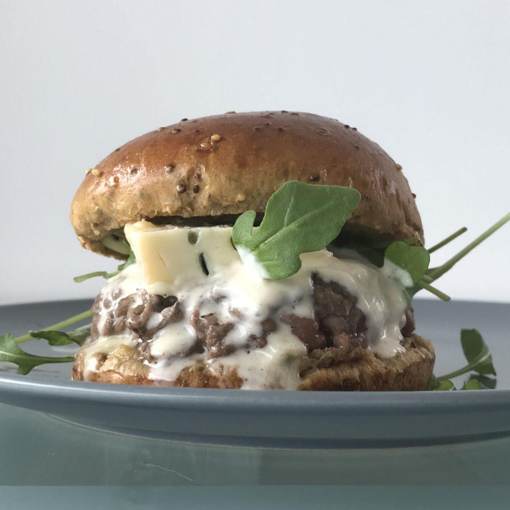 Burger aux graines